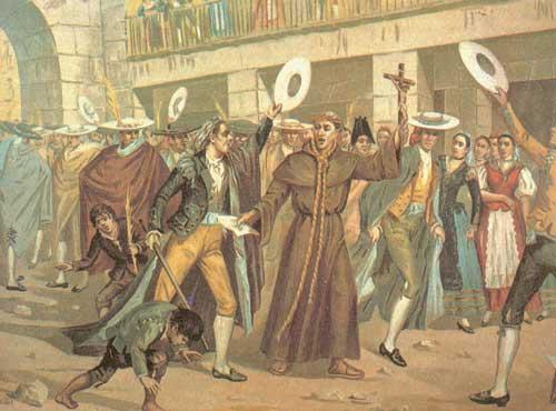 MotAi??n contra el MarquAi??s de Esquilache, 1776