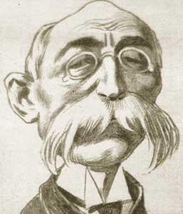 Caricatura de Olegario Molina