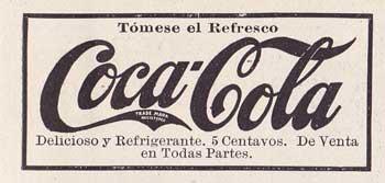 Coca Cola, tómese el refresco