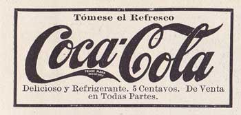 Coca Cola, tA?mese el refresco