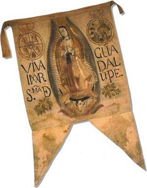 Estandarte de Hidalgo, Virgen de Guadalupe