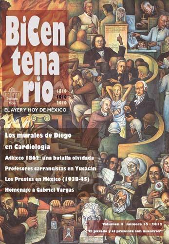 Portada de la revista Bicentenario 15 del Instituto Mora