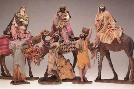 Figuras de los Reyes Magos, colección particular