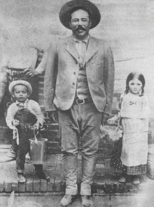Los niños de Pancho Villa