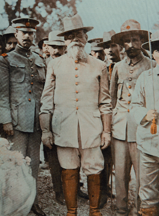 Oficina donde se recibiA? el telegrama de Victoriano Huerta (19 de febrero de 1913). Col. Particular