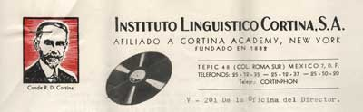 Instituto LingA?Ai??stico Cortina