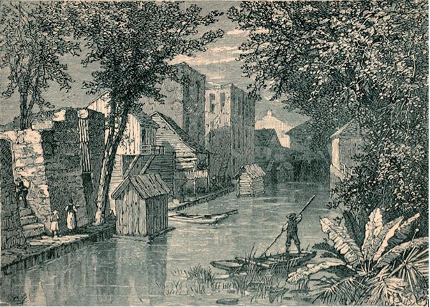 Escena en San Antonio, 1879