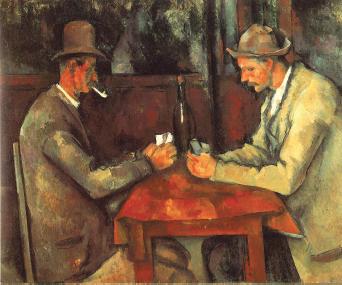 "Paul Cezanne, ""Jugadores de Cartas"" (1893)"