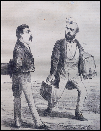 caricatura J.M. Hidalgo B-19