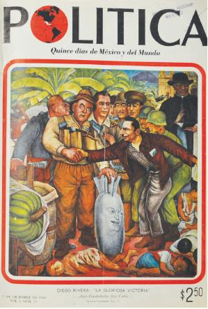 """Portada de la revista """"Política"""", diciembre, 1960."""
