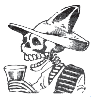 "JosAi?? Guadalupe Posada, Calavera ""Los buenos valedores"""