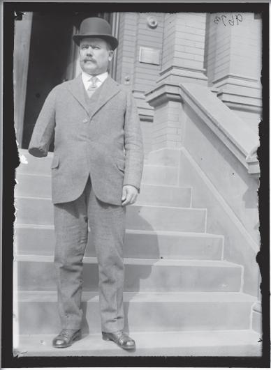 El general A?lvaro ObregA?n, 1917.