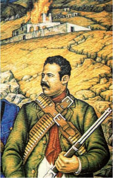 Mural inconcluso de Juan de O'Gorman (detalle)
