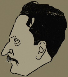 Caricatura de Manuel Márquez Sterling