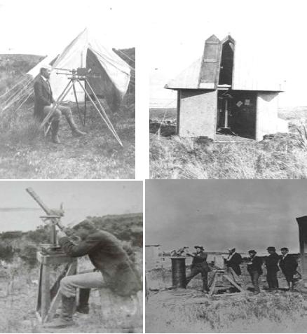 ImA?genes de las expediciones de 1874 y 1882. Publicado en MAINREVIEW