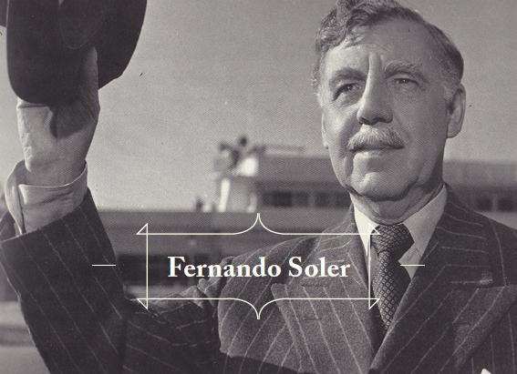 Fernando Soler, El Indiano, dirigida por F. soler, 1954. Col. Ramón Aureliano Alarcón