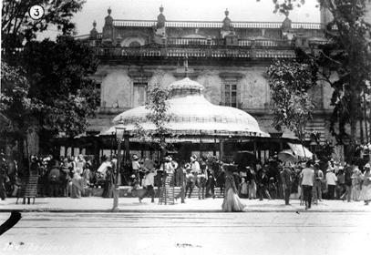 3. C. B. Waite, c. 1900, 184 The Flower Market, AGN, C. B. Waite, Mercados 86
