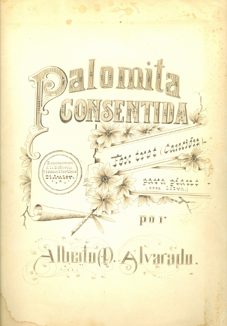 Alberto M. Alvarado Partitura 'Palomita Consentida' (1) (446x640)