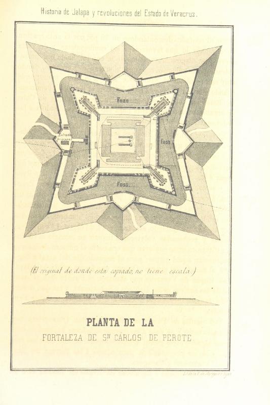 Planta de la fortaleza de San Carlos Perote (533x800)