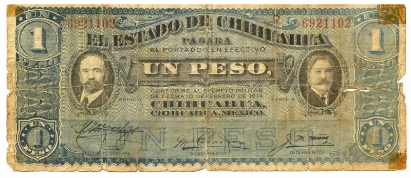 $1 Peso Dos caritas FRENTE