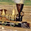 BAJA Luis Coto, EstaciA?n del ferrocarril mexicano, 1869 MNH (2)