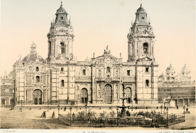 Catedral de PerA?, principios s. XIX ARZOBISPADO (640x433)