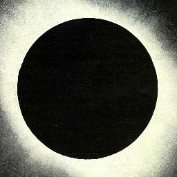 Eclipse total  de sol fotografiado por J.Gallo, YerbanAi??s, Durango, 1923 (518x640)