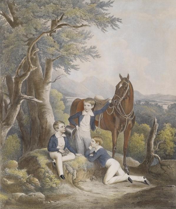 Franz Joseph, Maximiliano y Carlos de Habsburgo (652x800)