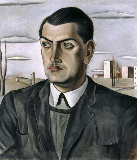 retrato de Luis Buñuel, Salvador DalÃ-, 1924 Museo Reina SofÃ-a (546x640)