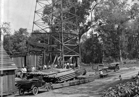 Pozo petrolero, ca. 1922 - 373574