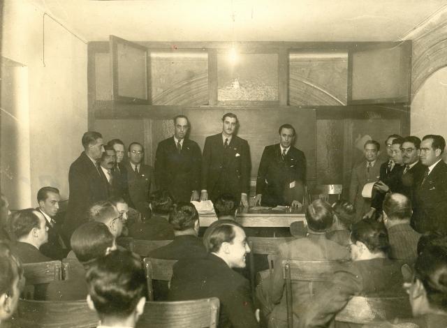 Consejo Regional del Distrito Federal, Manuel Gómez Morín, 1939 (640x470)