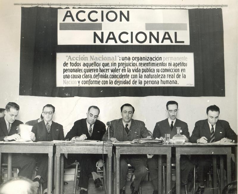Mesa Constituyente del PAN, 1939 (800x653)
