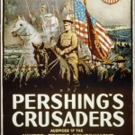 Anuncio de la película Pershing's Crusaders.
