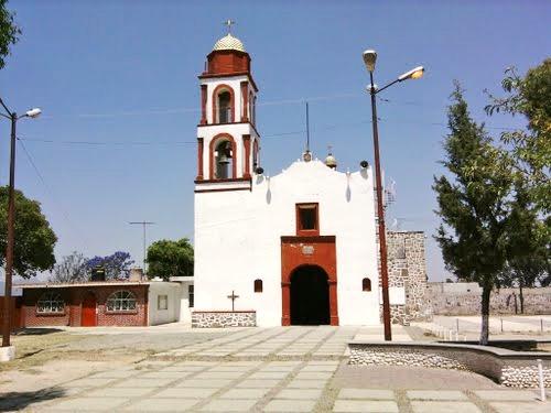 Parroquia de San Francisco Magú, Estado de México. Fotografía de Ana Rosa Suárez, 2016.