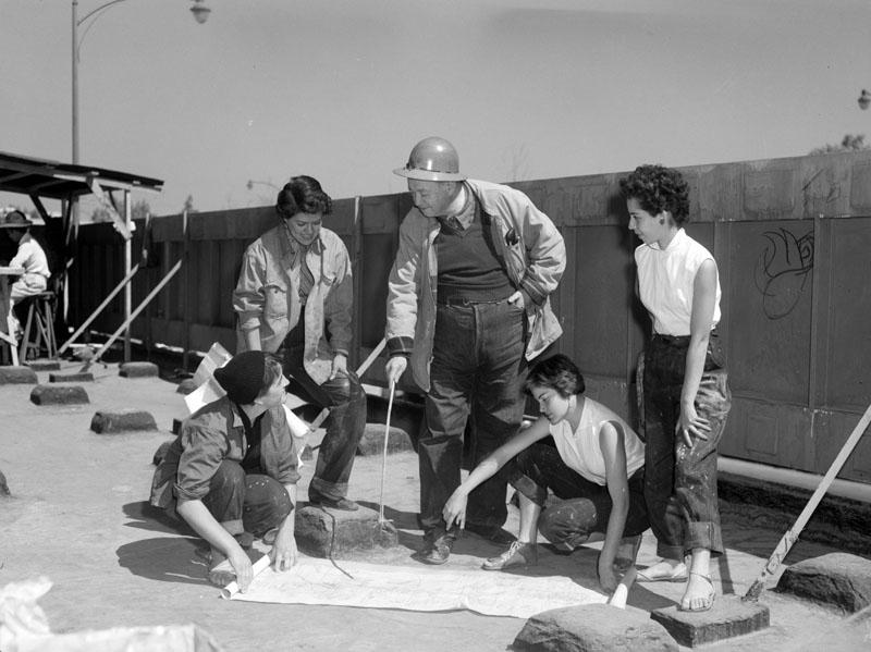 Construcción Teatro Insurgentes, Diego Rivera 31166