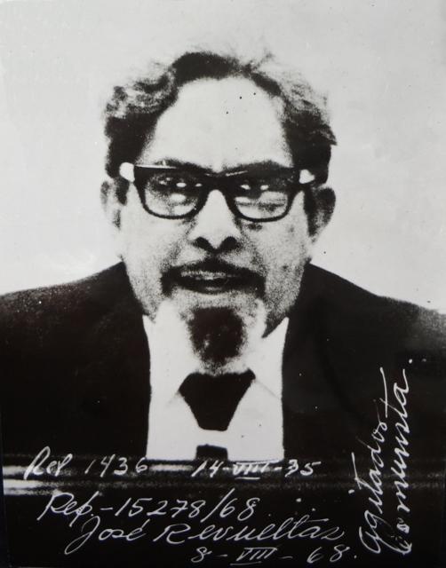 J. Revueltas como militante del movimiento estudiantil 1968 (502x640)