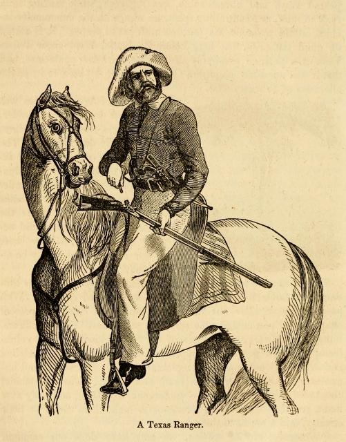 Ranger de Texas en la guerra con México (501x640)
