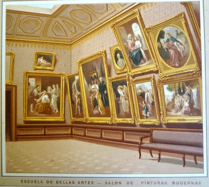 Academia de San C arlos Atlas pintoresco Orozco y Berra.2