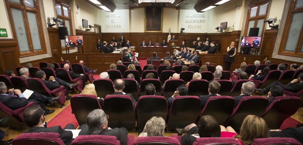 Informe Anual del Presidente de la Suprema Corte de Justicia de la Nación