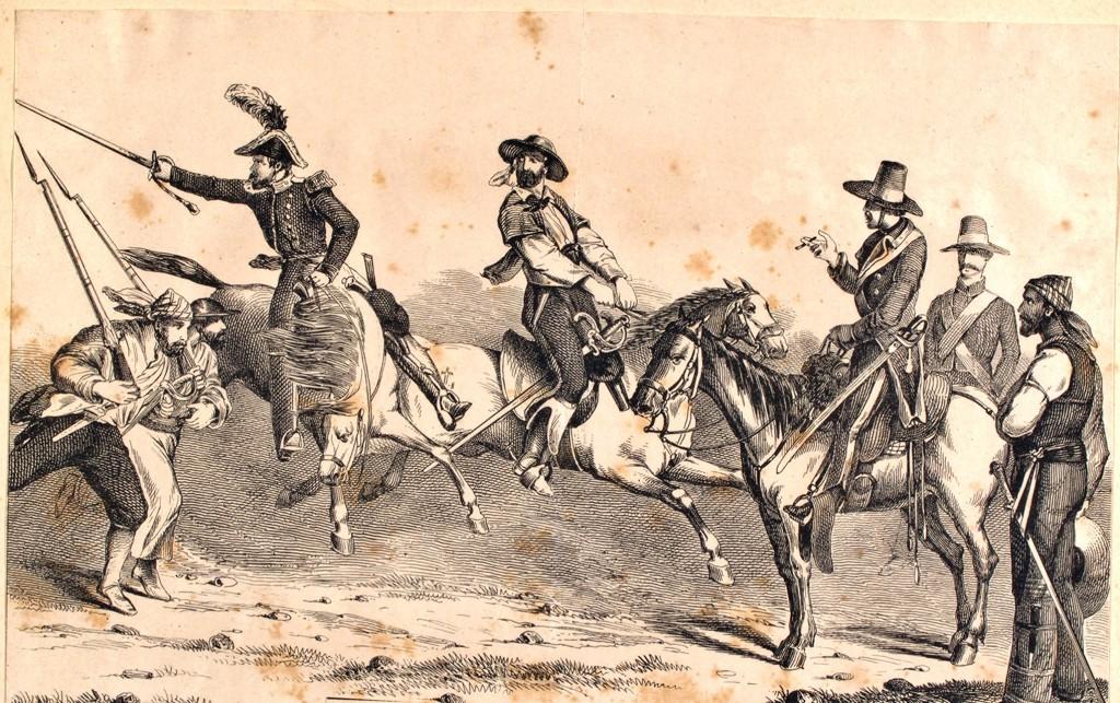 Tropas irregulares de México 1848