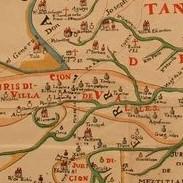 Mapa del Nuevo Santander circa 1792. Fuente Archivo General de la Nación