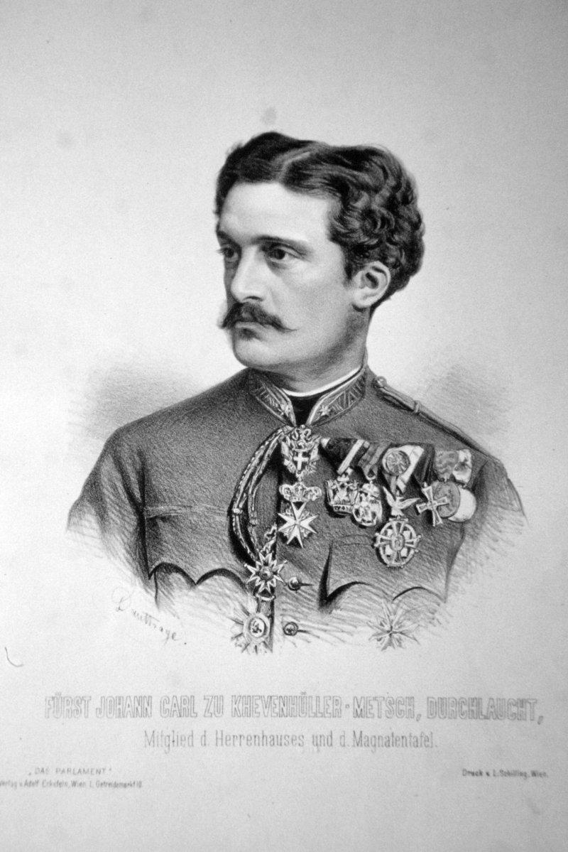 Johann Carl Von Khevenhüller-Metsch