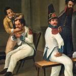 Arrieta, Escena militar, 1850