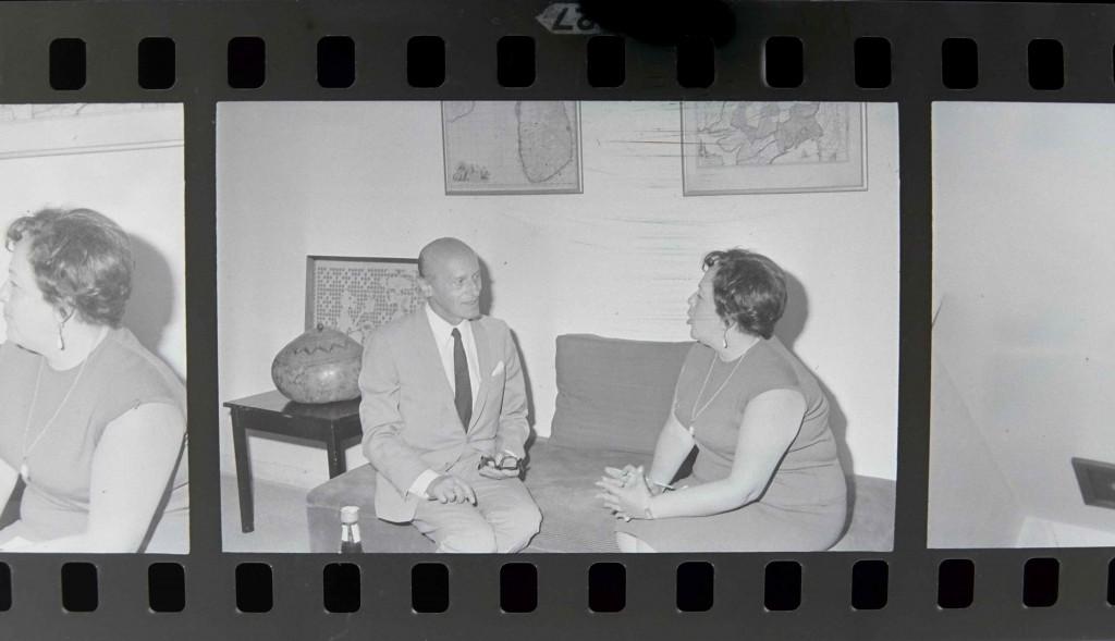 Gutierre Tibón, ca. 1970. Archivo General de la Nación, Fondo Hermanos Mayo, Alfabético General, sobre 8962.