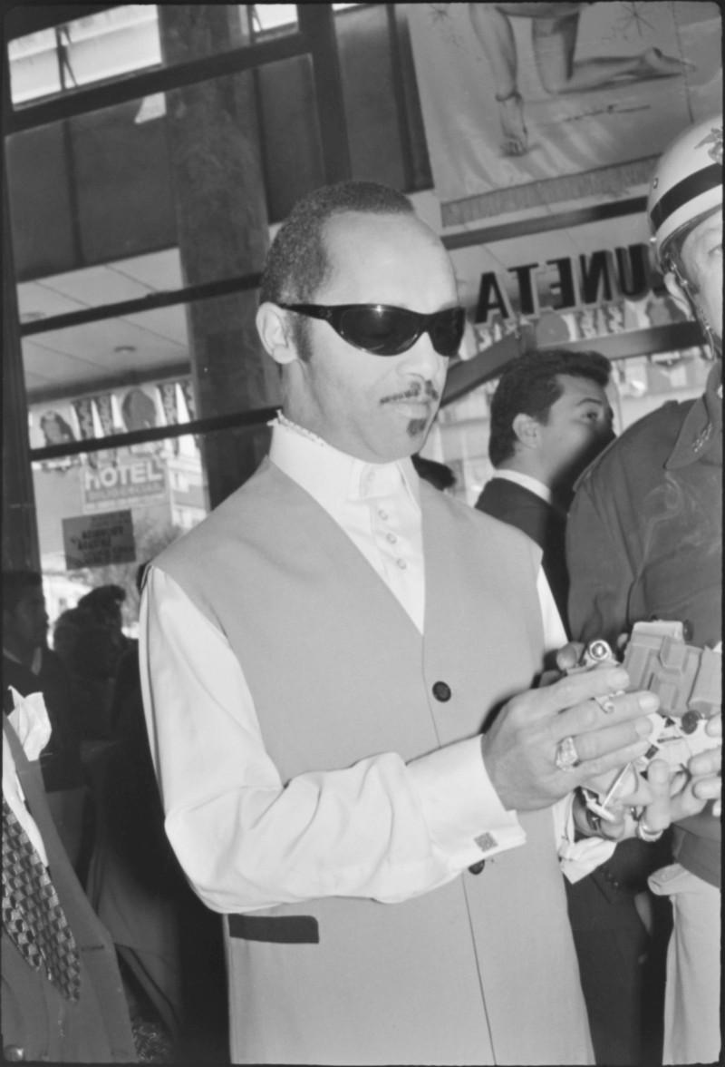 Dámaso Pérez Prado en México, ca. 1955. Archivo General de la Nación, Fototeca, Hermanos Mayo, Alfabético Artistas, sobre 989/1-A, fotografía 12.