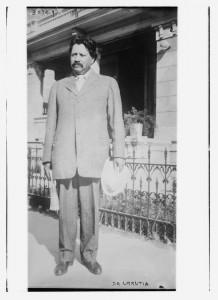 Bain News Service, Dr. [Aureliano] Urrutia, ca. 1915. Library of Congress, EUA.