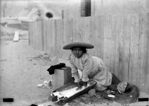 Winfield Scott,3080 [Lavandera], ca. 1900, inv. 08 779560. Antigua Academia de San Carlos FAD - UNAM.